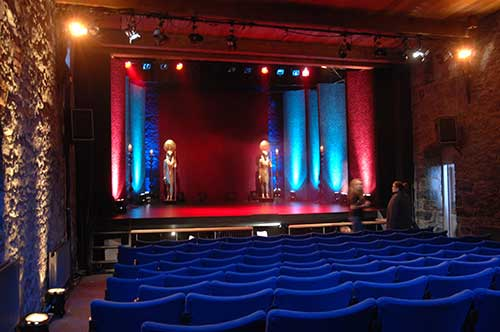 Abymill Theatre, Fethard, as set for the BBC TV 'Joseph' Auditions for 'Any Dream will Do' recorded on March 19, 2007.