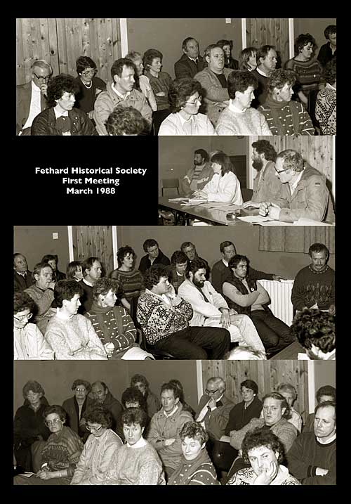 1988 First Meeting of Fethard Historical Society