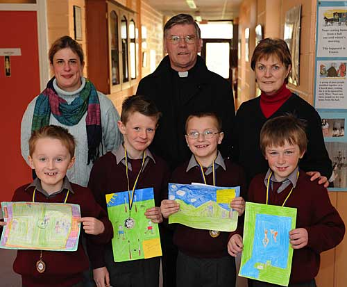 Art Winners St. Patrick's Boys School