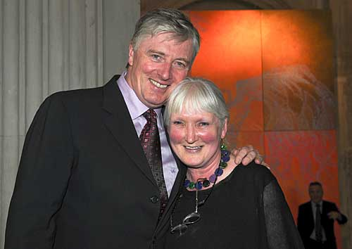 Alice Leahy and Pat Kenny