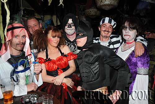 Photographed at the Halloween Party at Lonergan's Bar
