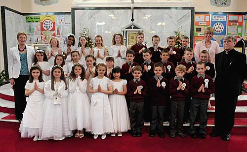 First Communion Group