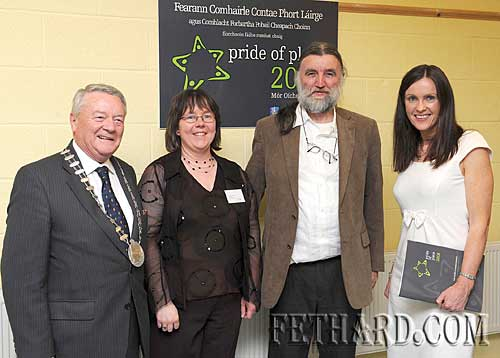 Fethard & Killusty Community Council members who represented South Tipperary County Council in the 1,000-2,000 population section of the national Co-Operation Ireland 'Pride of Place' Awards Ceremony held in Cappoquin on Saturday 9th November
