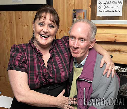 At the Fethard & District Day Care Centre Table Quiz were L to R: Rita McCormack and Eddie O'Brien.