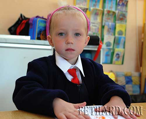 First day at school at Nano Nagle Primary School