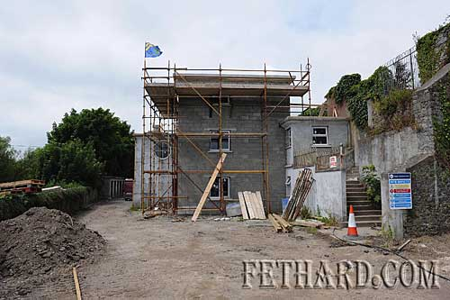 Work in progress at the Fethard Convent Hall Youth Project