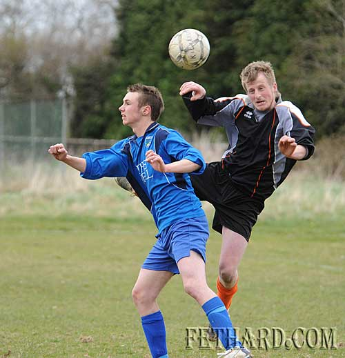 L to R: David Conway (Killusty) and Stephen Holohan (Ballingarry Albion)