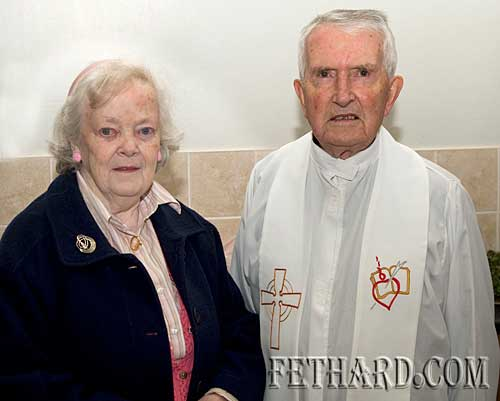 Kathleen Kenny and Fr. John Meagher