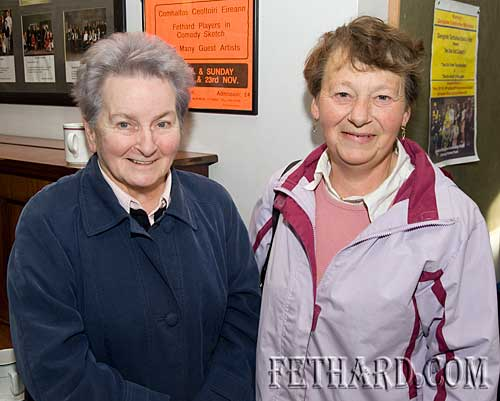 L to R: Alice and Breda Walsh