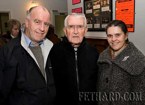 John and  Anne Kenrick with Fr. John Meagher