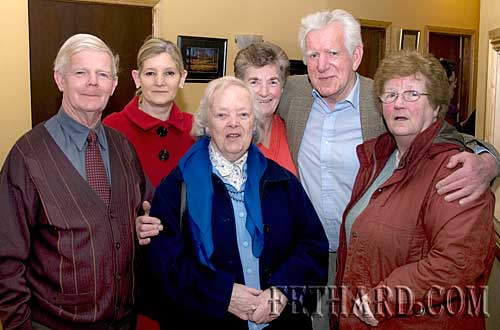 Photographed at the Augustinian Abbey party for helpers were L to R: Michael Fitzgerald, Geraldine McCarthy, Kathleen Kenny, Patricia Horan, Percy O'Flynn and Annie Connolly
