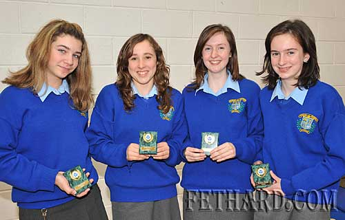 Credit Union Young Entrepreneurs Award winners L to R: Tara Horan, Aobh O'Shea, Karen Hayes and Michelle Walsh.