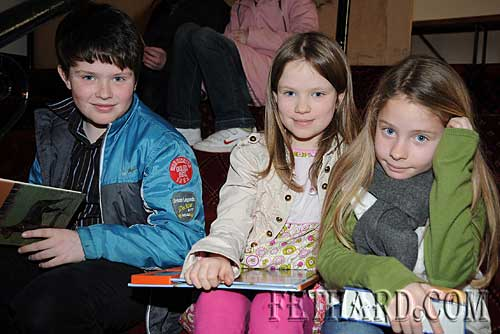 Photographed at the Tipperariana Book Fair in Fethard are L to R: Patrick Grogan Ryan, Mary Grogan Ryan and Lucy Grogan Ryan from Aherlow.