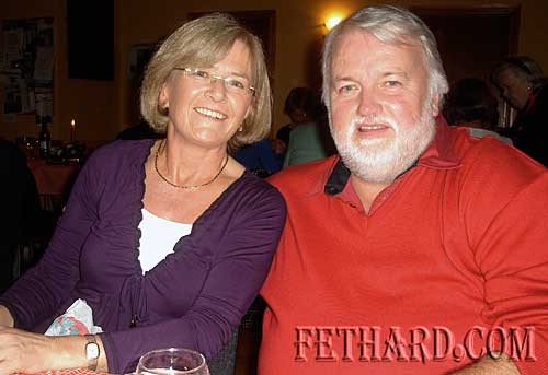 Photographed at Fethard Bridge Club Christmas Party are L to R: Carmel Condon and Brendan Kenny