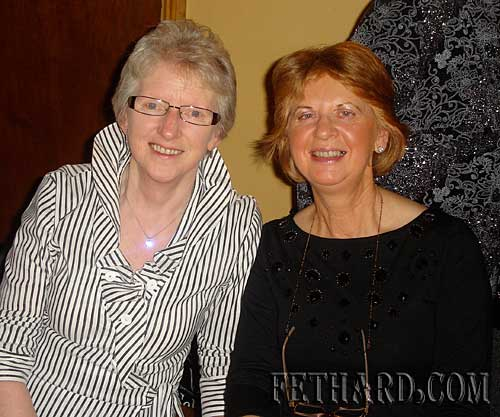 Photographed at Fethard Bridge Club Christmas Party are L to R: Eileen Frewen and Marie Delaney