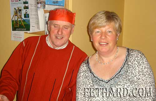 Photographed at Fethard Bridge Club Christmas Party are L to R: Sean O'Dea and Ann O'Dea