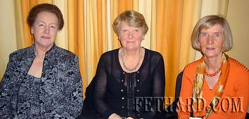 Photographed at Fethard Bridge Club Christmas Party are L to R: Joan Kelly, Rita Holohan and Breda O'Grady