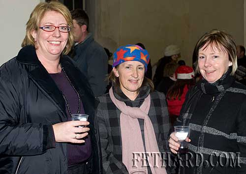 Photographed at the Annual Carol Service at Holy Trinity Church on Sunday 20th December are L to R: Suzanna Manton, Rita Kenny and Ann Walsh.