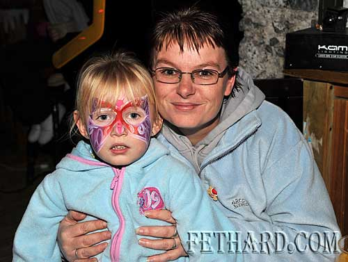 Photographed at the Christmas Party at The Castle Inn Fethard are Tamara Doyle and Noelle Doyle.