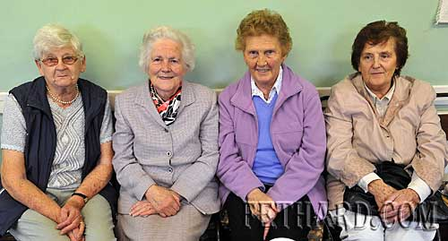 Photographed at Fethard ICA Coffee Morning & Cake Sale in aid of the National Childrens Hospital, Crumlin, are L to R: Kitty Delany, Mary Tierney, Mina Gorey and Norah Ahearne.