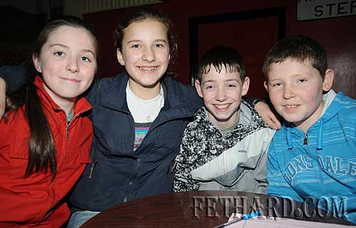 Cloneen National School quiz team L to R: Sophie Noonan, Leah Fox, Lee Doherty and Ciarán Mockler.