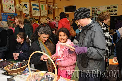 Photographed at Fethard Nano Nagle National School's Fairtrade and Sharing Fair Sale in the school on 24th February 2009