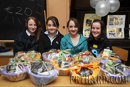 Photographed at the Nano Nagle National School's 'Challenge to Change' project highlighting the sale of Fairtrade and 'Sharing Fair' goods are L to R: Annie Prout, Emma Walsh, Jane Morrissey and Anastasia Blake.