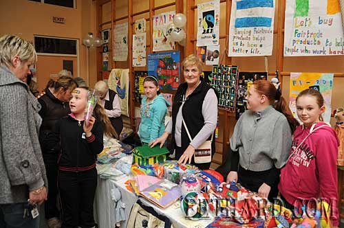 Challenge to Change project, Fethard Nano Nagle National School hosted a Fairtrade and Sharing Fair Sale in the school on 24th February
