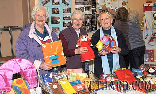 Helping at the Sharing Fair stall at Nano Nagle National School were L to R: Dorothy Cox, Sr. Catherine and Sr. Marie.