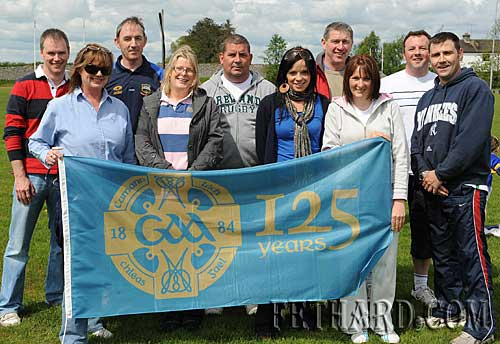 Members of Fethard GAA club photographed helping out at the Fethard GAA Club 'Family Fun Day' held on Sunday 10th May to mark the 125 Year Celebrations of the Gaelic Athletic Association in Ireland are L to R: Michael Moroney, Ann Fleming, Michael Hayes, Liza Ward, Tom McCarthy, Sandra Maher, Willie Quigley, Maureen McCarthy, Andy O'Donovan and Eugene Walsh.