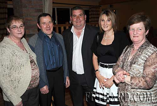 Photographed at the Fethard GAA Medal Presentation Function at Slievenamon Golf Club are L to R: Ann Keane, Joe Keane, Tom McCarthy, Maureen McCarthy and Mary Godfrey (Secretary)