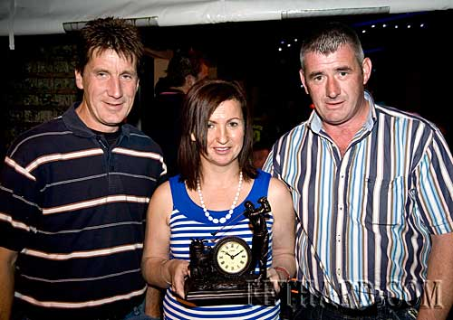 Members of the winning team at Fethard Juvenile GAA Golf Classic held on Saturday 15th August. L-R: Brian Higgins, Anne Coen and Shea Coen.