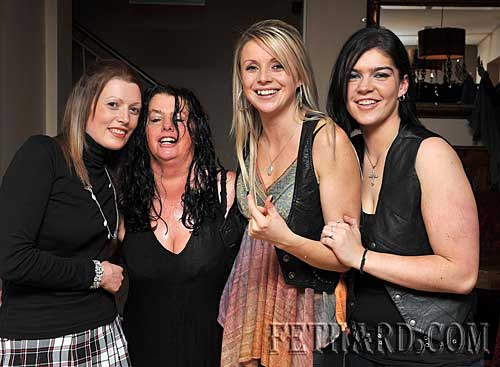 Photographed at the Halloween Party at Gaule's Bar were L to R: Clodagh Blake, Mary Tynan, Linda Delaney and Carrie Greene.
