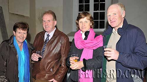 Photographed at the Harvest Festival in Fethard last Sunday were Back L to R: Mary O'Connell, Don O'Connell, Patricia Lalor and Bill Lalor.