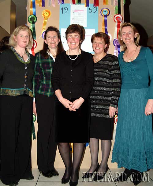 Photographed at the Tipperary Hunt Pony Club 50th Anniversary Reunion Party at Slievenamon Golf Club were L to R: Gillian Murray, Anne Croome-Carroll, Josephine O'Hagan, Rosemary O'Donnell and Yvonne Casey.
