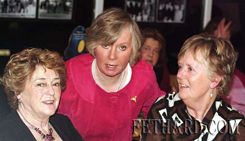 Photographed at the Tipperary Hunt Pony Club 50th Anniversary Reunion Party at Slievenamon Golf Club were L to R: Joan Dooley, Faith Ponsonby and Rosemarie Maher