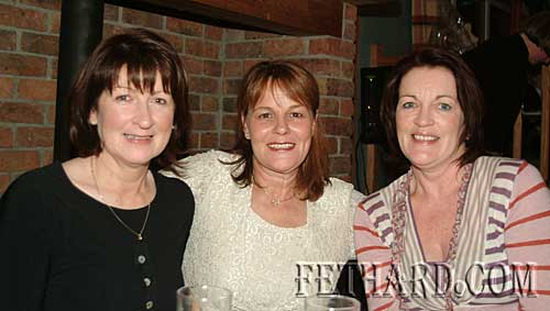 Photographed at the Tipperary Hunt Pony Club 50th Anniversary Reunion Party at Slievenamon Golf Club were L to R: Majella Fahey, Anne Hallinan and Anne Walsh