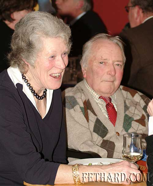 Photographed at the Tipperary Hunt Pony Club 50th Anniversary Reunion Party at Slievenamon Golf Club were L to R: Rosemary & Harry Ponsonby