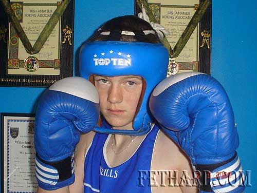 Jack Connolly, The Green, a member of Clonmel Boxing Club and representing Munster, won his second National Title, on Saturday 2nd May at the National Stadium, Dublin.