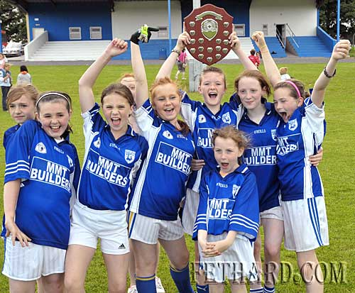 Fethard girls celebrate their county final win. L to R: Clodagh Bradshaw, Alannah Coady, Amy Thompson, Kayleigh Higgins, Katie Butler, Rebecca McCarthy, Annie Prout and Jessie McCarthy. Fethard girls celebrate their county final win. L to R: Clodagh Bradshaw, Alannah Coady, Amy Thompson, Kayleigh Higgins, Katie Butler, Rebecca McCarthy, Annie Prout and Jessie McCarthy. Fethard girls celebrate their county final win. L to R: Clodagh Bradshaw, Alannah Coady, Amy Thompson, Kayleigh Higgins, Katie Butler, Rebecca McCarthy, Annie Prout and Jessie McCarthy.