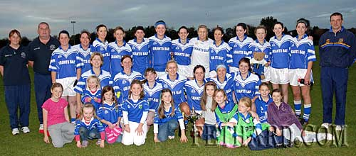 Fethard Junior Ladies, County Champions, 2009 (photos supplied by Kieran Butler)
