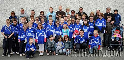 Members of Fethard Ladies Football Club photographed before heading off on their sponsored walk around Fethard to raise funds for the club.