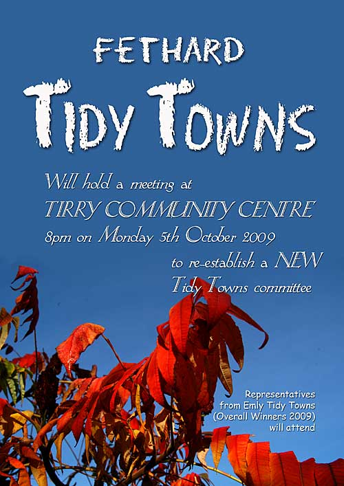 Tidy Towns Meeting