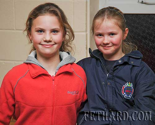Photographed at the Fethard Patrician Presentation Secondary School's 'Open Day' last Monday evening were L to R: Amy Tynan and Chloe Lawrence.