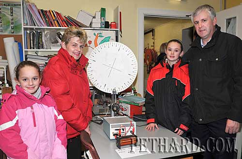 Photographed at the Open Day at Patrician Presentation Secondary School Fethard are L to R: Laura Butler, Mary Butler, Aileen Butler and Percy Butler.
