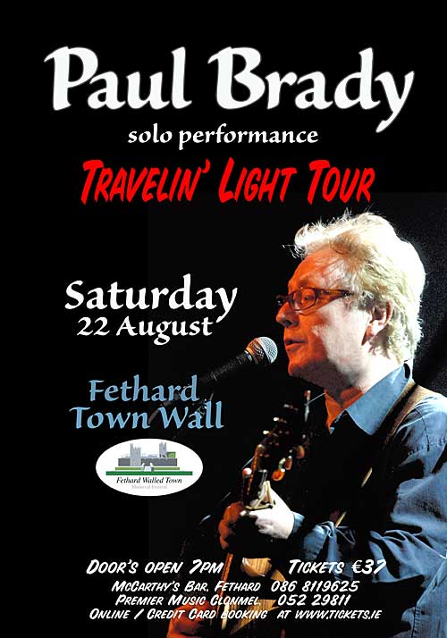 Paul Brady Concert in Fethard