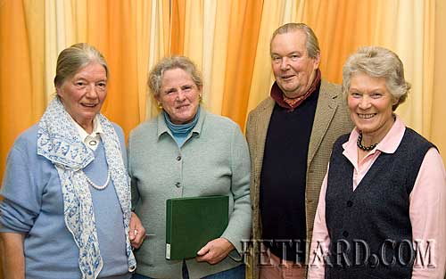 Photographed at the Killusty Pony Show AGM held in the Tirry Centre Fethard are the outgoing committee L to R: Judy Butler, Betsy O'Connor, Christopher Horsman and Rosemary Ponsonby.