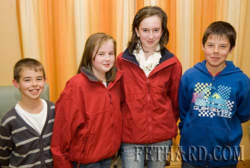 Photographed at the Killusty Pony Show AGM held in the Tirry Centre Fethard are L to R: Cathal Slattery, Orla Walsh, Michelle Walsh and Killian Slattery