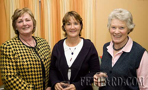Photographed at the Killusty Pony Show AGM held in the Tirry Centre Fethard are L to R: Margaret Widger, Jacinta Kennedy and Rosemary Ponsonby.