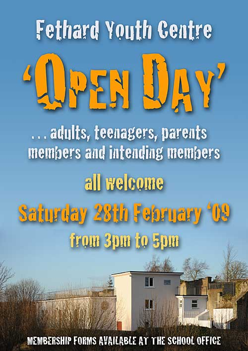 Open Day at Fethard Youth Centre